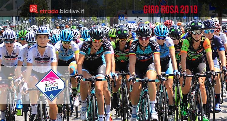 Giro ciclistico d'Italia femminile internazionale Giro Rosa 2019