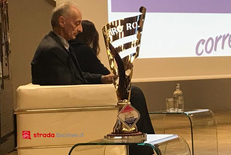 Il trofeo del Giro Rosa 2019