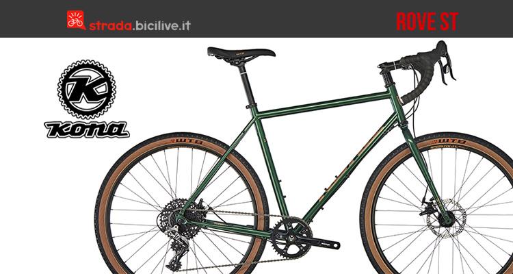 Kona Rove ST bici acciaio per il ciclocross