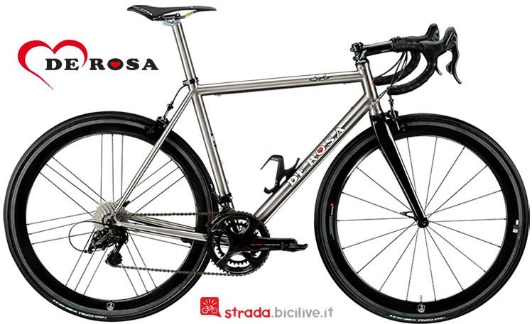 Bicicletta in titanio De Rosa Solo catalogo 2019