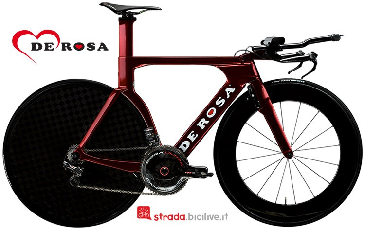 bicicletta triathlon De Rosa TT03 2019