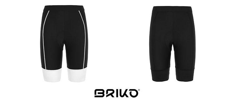 Pantaloncino bici Briko: Ultralight Lady Shorts