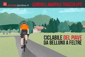 La pista ciclabile del Piave: un progetto in crescita