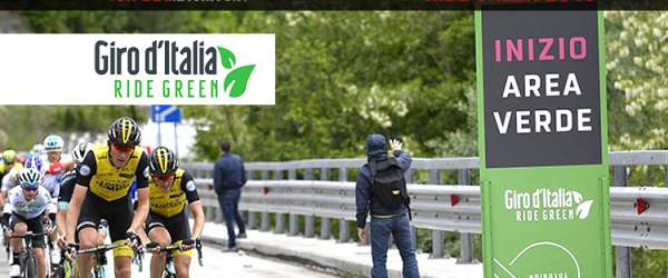 Ride Green 2019 per un Giro d'Italia eco-sostenibile