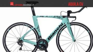 Bianchi Aquila CV bici da corsa crono 2019