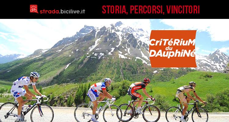 Il Giro del Delfinato: storia, percorsi, vincitori