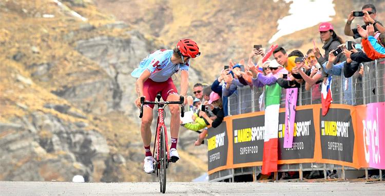Ilnur Zakarin vittoria della tredicesima tappa del giro d'italia 2019
