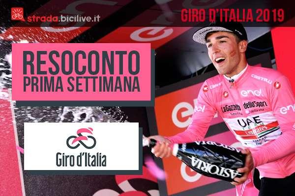 Giro d'Italia 2019: il resoconto della prima settimana