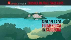 Sardegna: il giro del lago Flumendosa in bicicletta