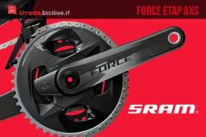 SRAM Force eTap AXS: la nuova trasmissione a 12v