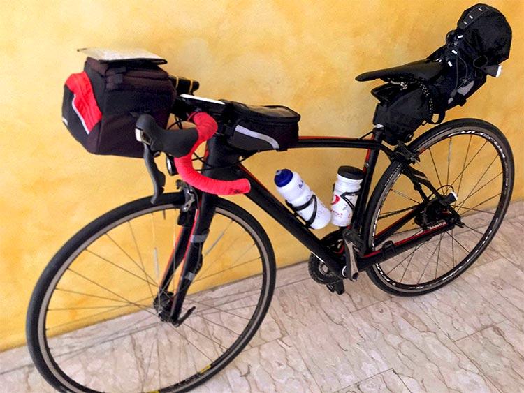 bicicletta pronta per la randonnee valsugana 2019
