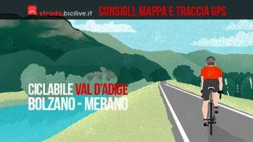 ciclabile della val D'adige Bolzano - Merano 2019