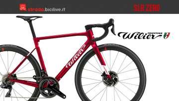 La bicicletta da corsa Wilier Triestina SLR Zero 2020