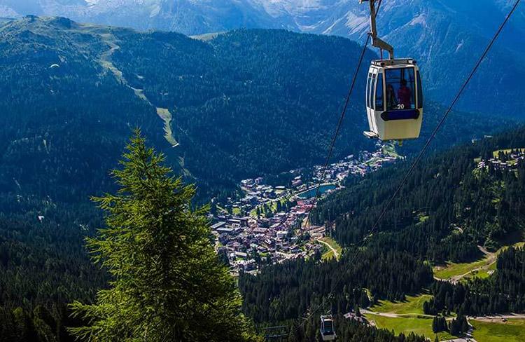 panorama Granfondo Top Dolomites 2019