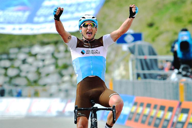 Nans Peters vincitore tappa 17 Giro d'Italia 2019
