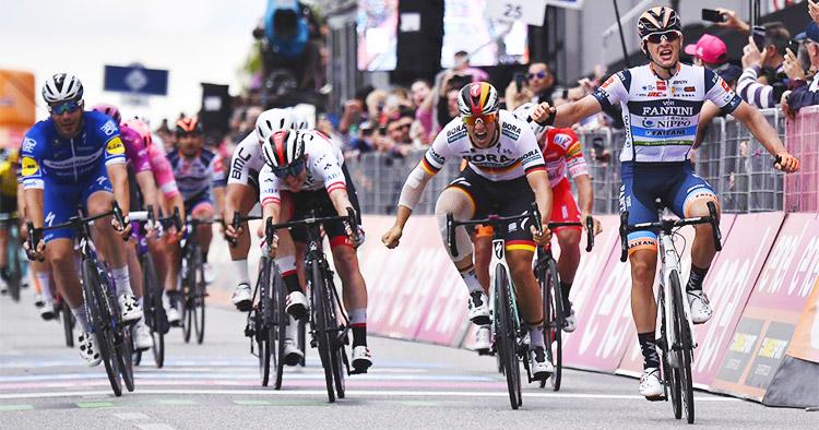 Damiano Cima vincitore tappa 18 girod'italia 2019