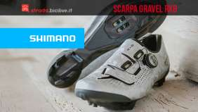 Shimano RX8: la nuova scarpa gravel superleggera