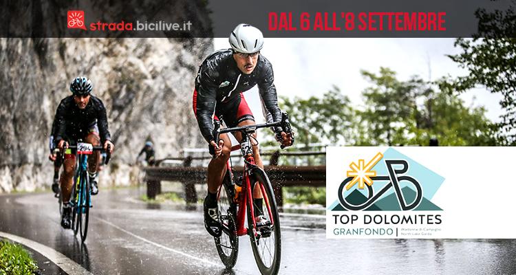 Granfondo Top Dolomites 2019: dal 6 all'8 settembre