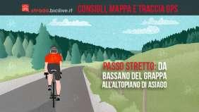 Il Passo Stretto: da Bassano del Grappa all'Altopiano di Asiago