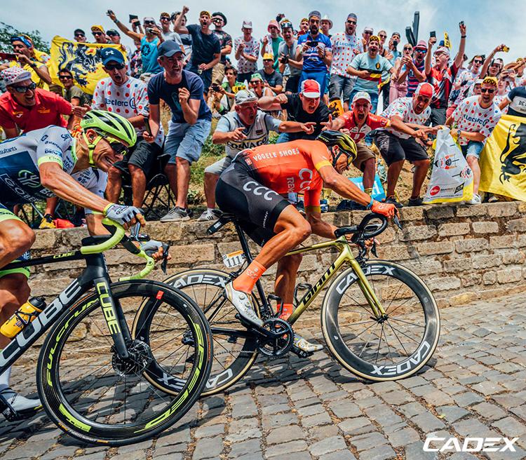 campione olimpico Greg Van Avermaet durante Tour de France 2019