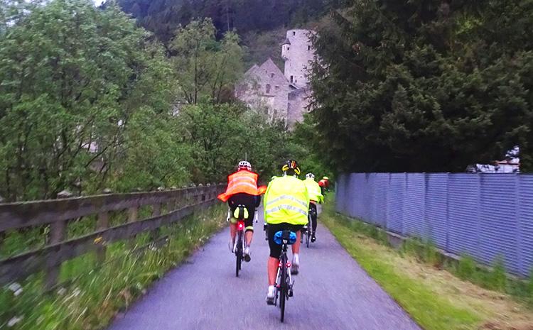 percorrendo la ciclabile della pusteria fino a Bressanone bici