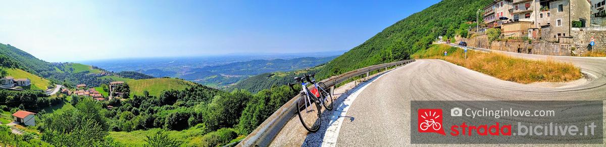 Passo Stretto Bassano Del Grappa Altopiano Di Asiago In Bici