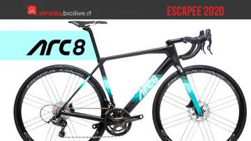 ARC8 Escapee: una bici da strada performante e personalizzabile