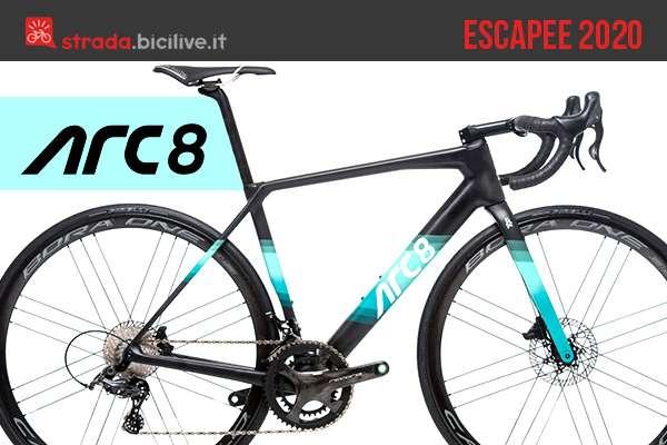 ARC8 Escapee: una bici da strada performante e personalizzabile