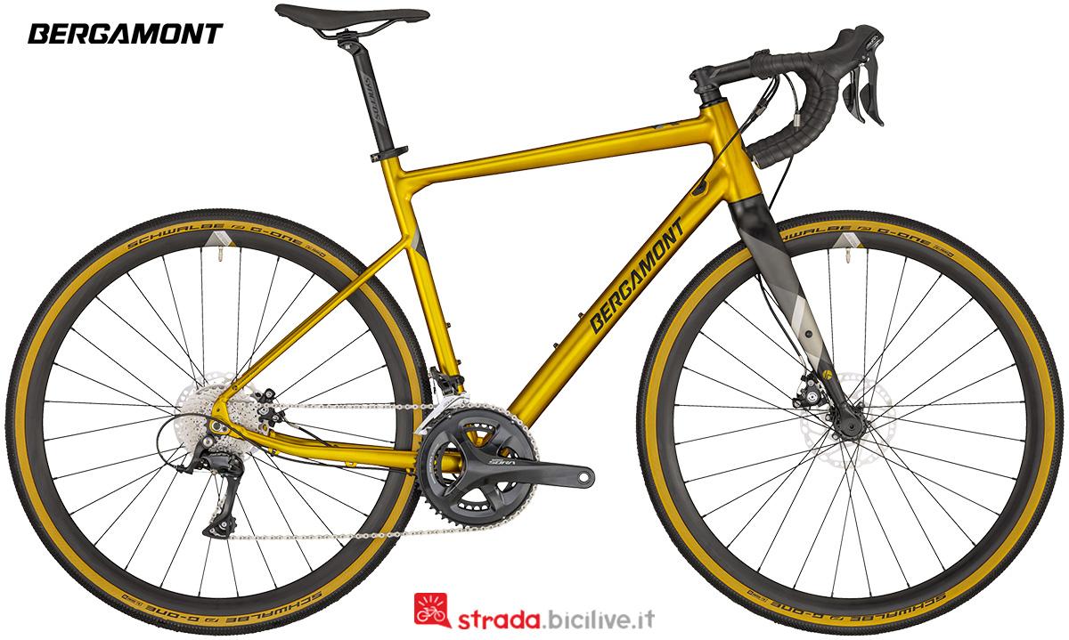 Una bici Bergamont Grandurance 5 gamma 2020