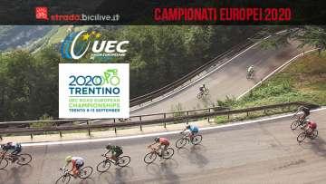 Campionati Europei 2020 su strada: Trento si prepara all'evento