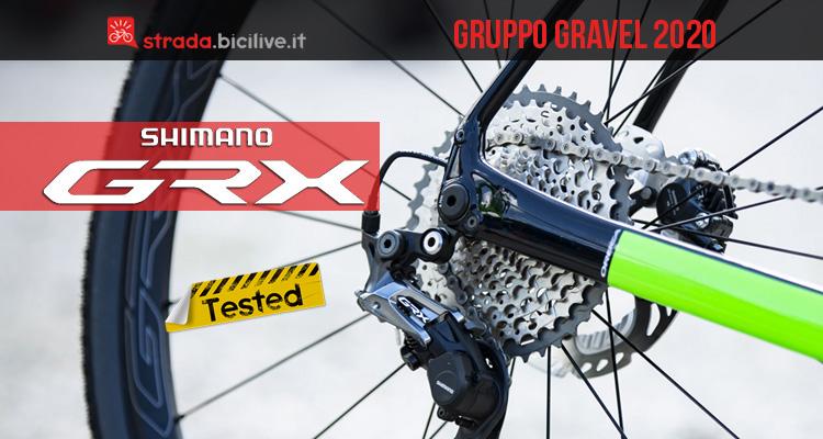 Il mini test del gruppo gravel Shimano GRX