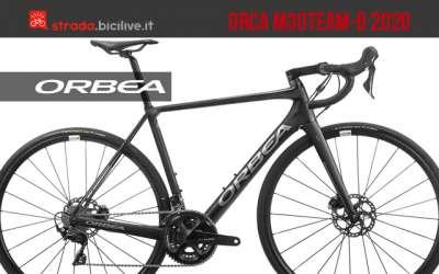 Una nuova bicicletta da strada Orbea Orca M30Team-D del 2020