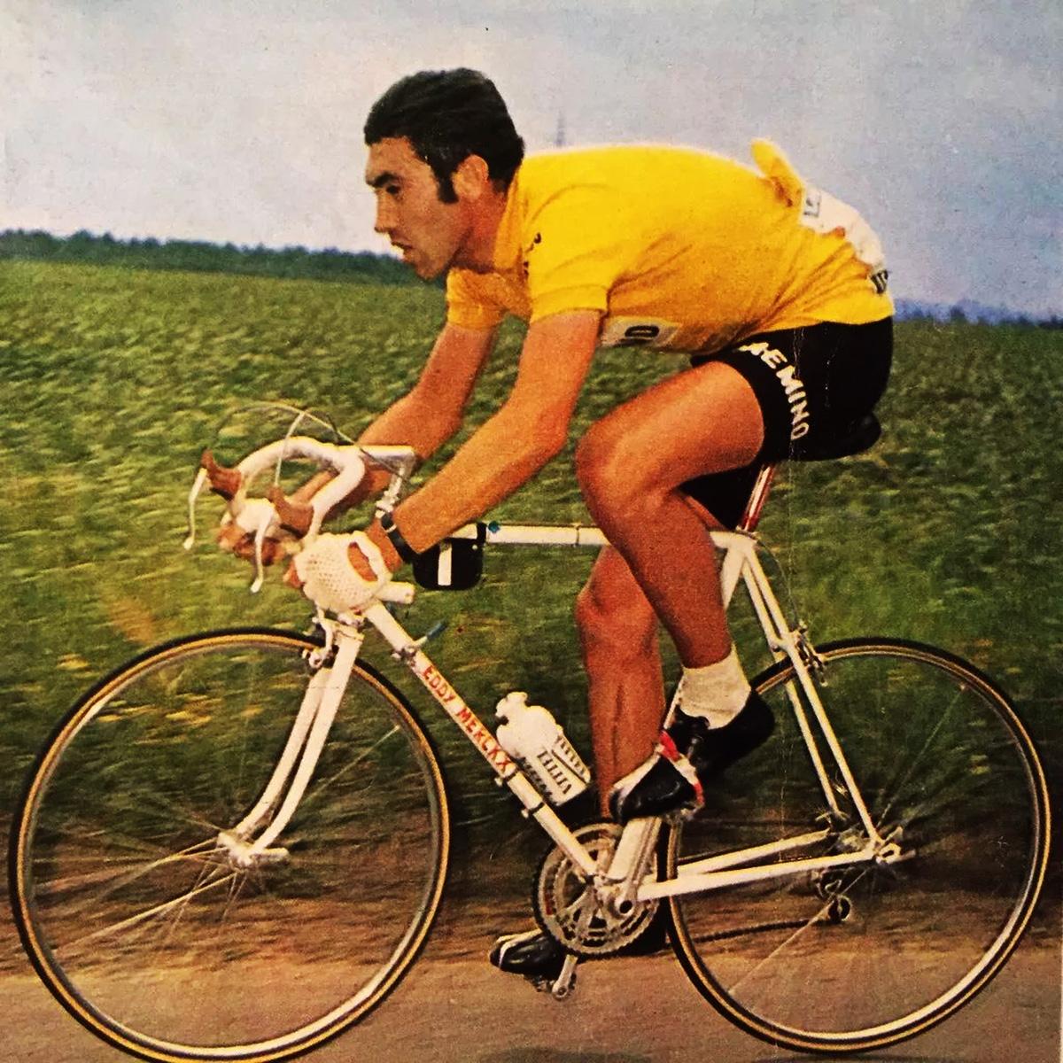 Eddy Merckx nel 1973 partecipa per la prima alla Vuelta di Spagna