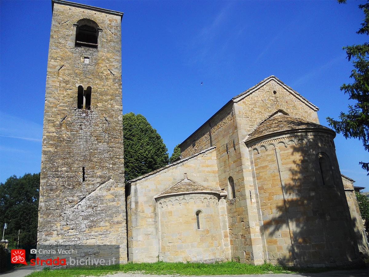 Il primo incontro a Rubbiano edificio storico di epoca romanica