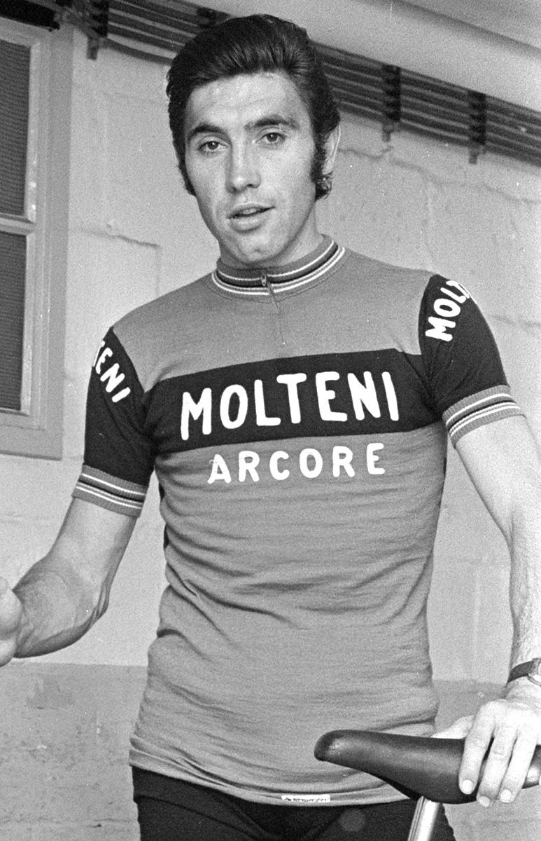 Nascita del più grande ciclista della storia Eddy Merckx