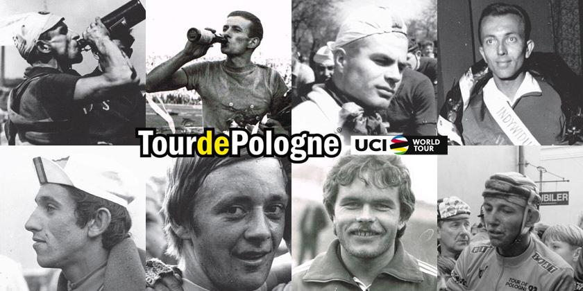 Vincitori storici del Giro di Polonia