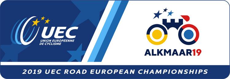 Il logo dei Campionati Europei su strada 2019