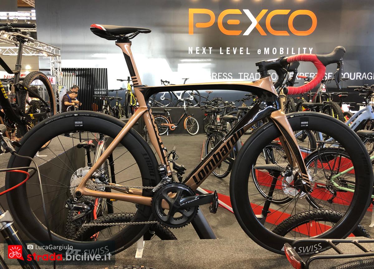 Una bici da corsa Lombardo dalla gamma 2020