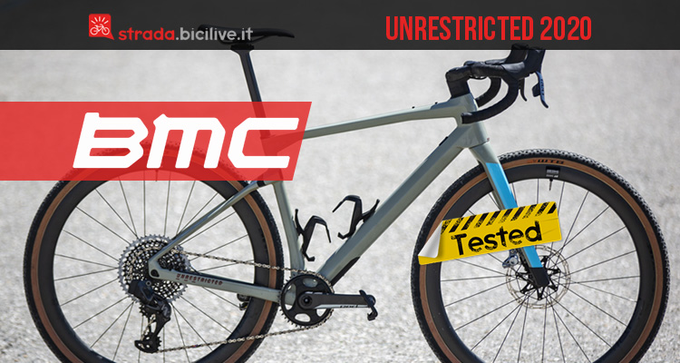 BMC URS UnReStricted 2020: il mini test della bici gravel