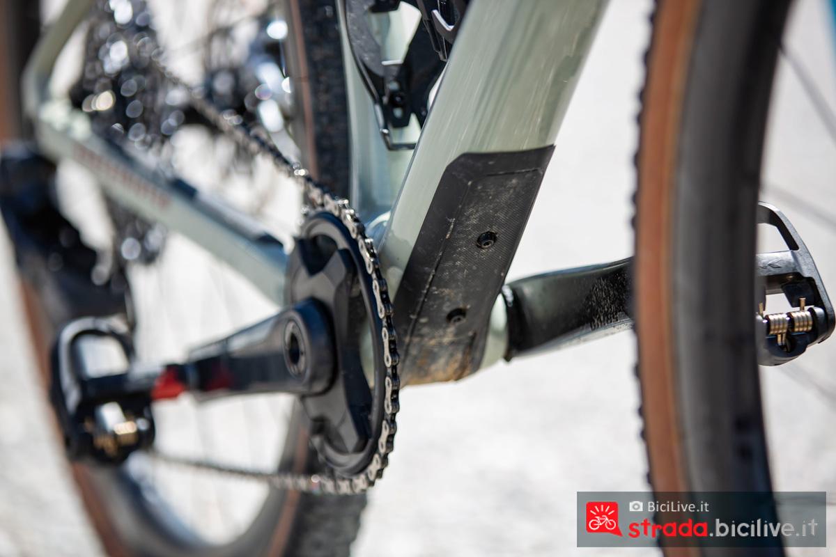 Protezione montata sulla bici da offroad BMC UnReStricted 2020