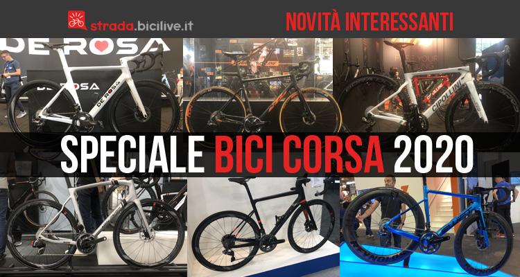 Speciale: le nuove bici da corsa 2020