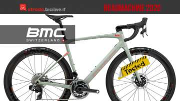 La bici BMC Roadmachine 2020
