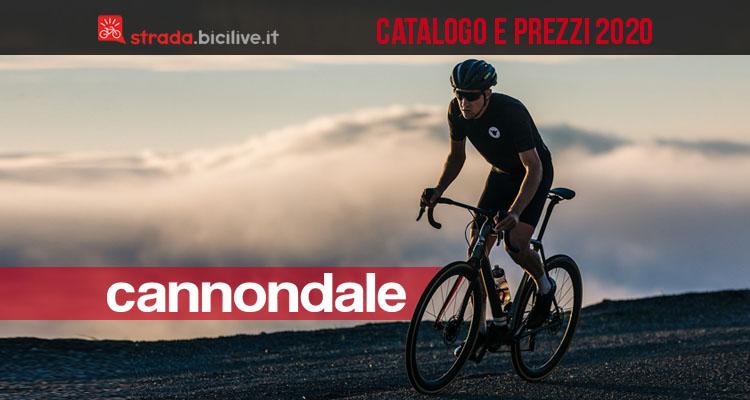 La bici Cannondale da corsa e gravel 2020 in azione
