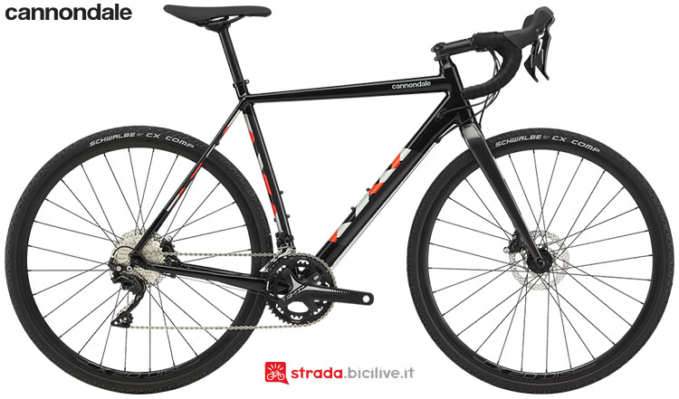 La bici Cannondale CAADX 105 2020