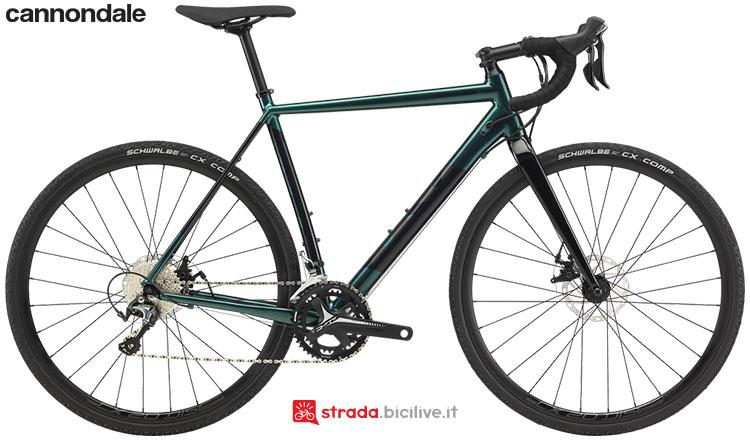 La bici Cannondale CAADX Tiagra 2020