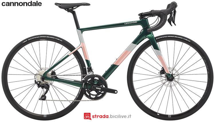 La bici Cannondale SuperSix EVO Carbon Disc Women's 105 2020