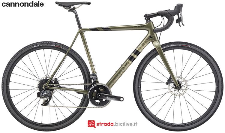 La bici Cannondale SuperX Force eTap AXS 2020
