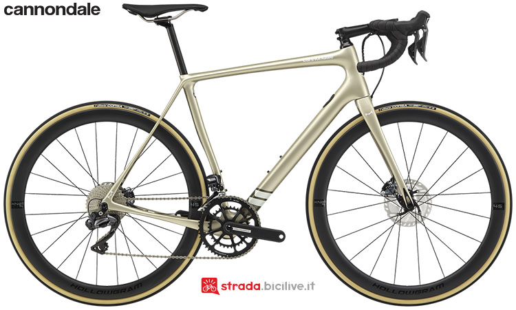 La bici Cannondale Synapse Hi-Mod Ultegra Di2 2020