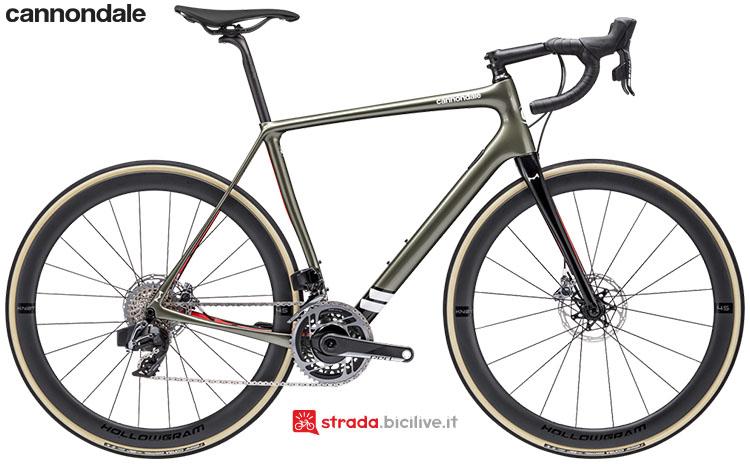 La bici Cannondale Synapse Hi-Mod Red eTap AXS 2020