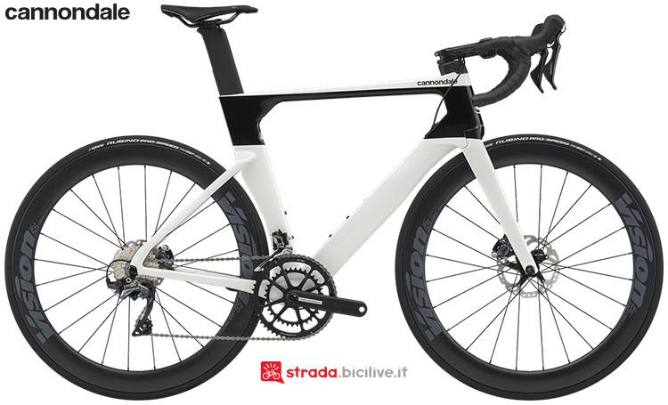 La bici Cannondale SystemSix Carbon Ultegra
